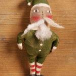 Goodnight Santa Green Ornament Design by Tish Bachleda