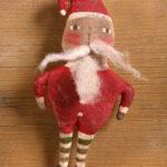 Goodnight Santa Red Ornament Design by Tish Bachleda