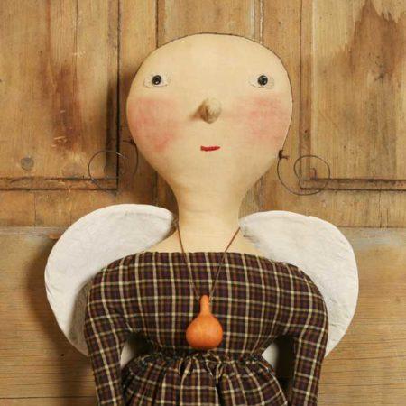 Gourd Guardian Angel design by Tish Bachleda