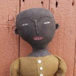 Grace Doll in black finish design by Tish Bachleda