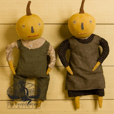 Harvest Gothic Farmer and Wife designed by Tish Bachleda