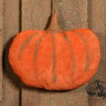 Harvest Pumpkin Ornament Design by Tish Bachleda