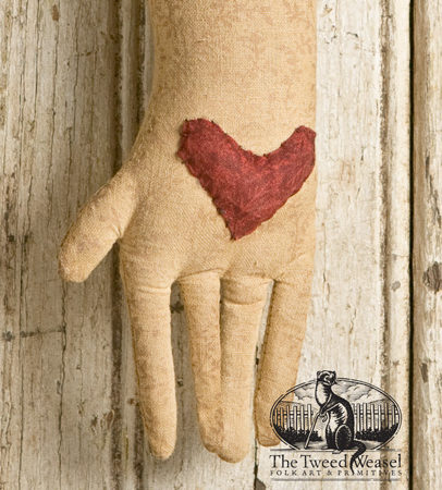 Heart and Hand Ornament Designed by Tish Bachleda