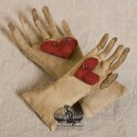Heart in hand pin cushion designed by Tish Bachleda