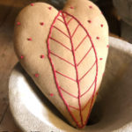 Heart of Palm Pillow Design by Tish Bachleda