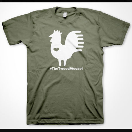 Rooster Heart T-Shirt Design by Tish and Mike Bachleda