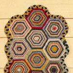 Hexagon Rug design by Tish Bachleda