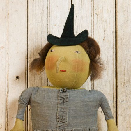 Hillary doll created by Tish Bachleda
