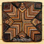 Hit or Miss Star Hooked rug Design by Tish Bachleda