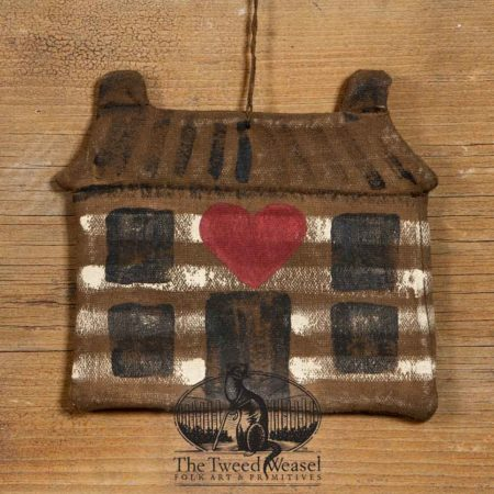 Home Is Where The Heart Is Ornament design by Tish Bachleda