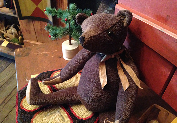 Handmade bear by Tish Bachleda