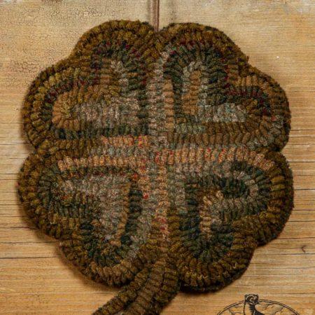 Hooked Four Leaf Clover Design by Tish Bachleda