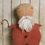Jolly Santa doll design by Tish Bachleda
