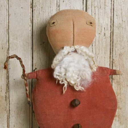 Jolly Santa doll design by Tish Bachleda