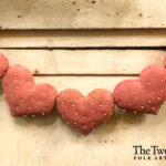 Knotted Heart Garland Design by Tish Bachleda