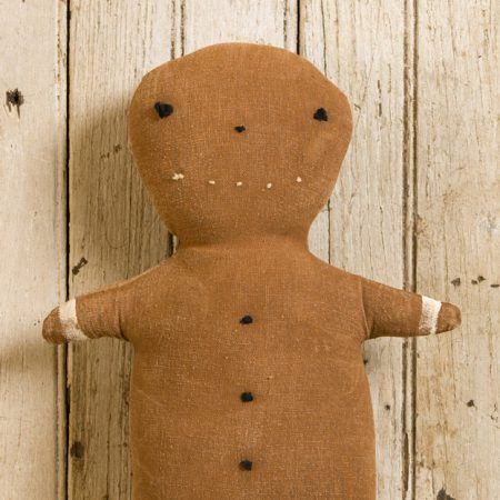 Large Gingerbread Boy doll design by Tish Bachleda