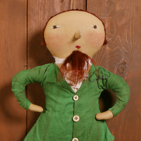 Leprechaun Doll Design by Tish Bachleda