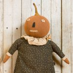 Maple pumpkin doll created by Tish Bachleda