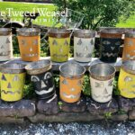 Maple Sap Bucket Jack-o-Lanterns Designed by Tish and Mike Bachleda 2021