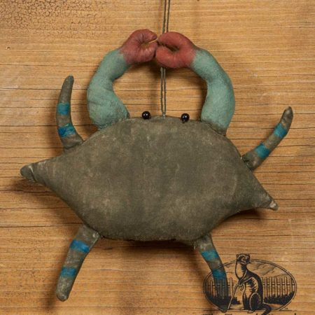 Maryland Blue Crab ornament design by Tish Bachleda