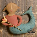Mermaid with Tulip designed by Tish Bachleda