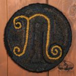 Monogram Chairpad design by Tish Bachleda