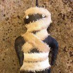 Mummy Ornament Design by Tish Bachleda
