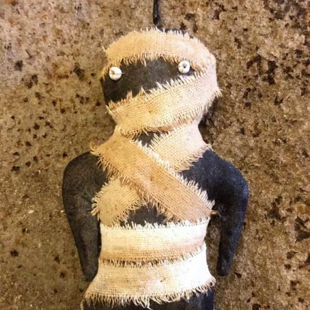 Mummy Ornament Design by Tish Bachleda