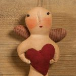 My Heart Angel Ornament design by Tish Bachleda