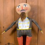 Nutcracker folk art doll designed by Tish Bachleda