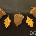 Oak Leaves and Acorns Garland Design by Tish Bachleda