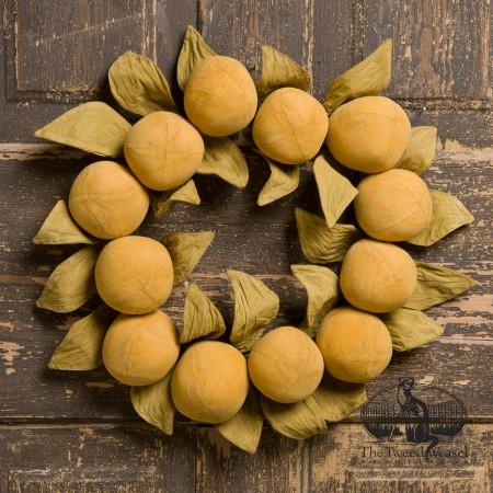 Timeless Oranges Wreath designed by Tish Bachleda