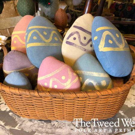 Pastel Painted Easter Eggs Designed by Tish Bachleda