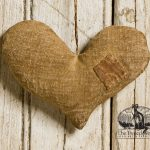Patched Heart Ornament Design by Tish Bachleda