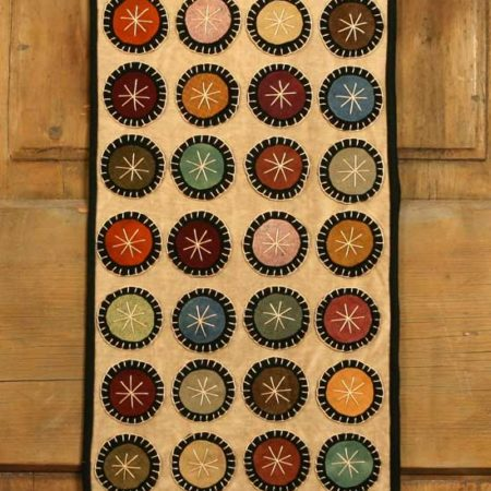 Penny Table Runner Designed by Tish Bachleda