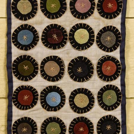 Penny Rug Design by Tish Bachleda