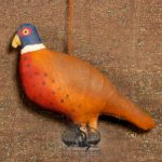 Pheasant Ornament design by Tish Bachleda