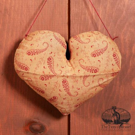 Pocket Heart Ornament Design by Tish Bachleda