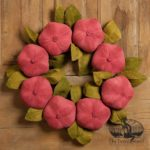 Pomegranate Wreath design by Tish Bachleda