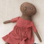 Purdy doll in black finish designed by Tish Bachleda