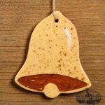 Bell Redware Ornament design by Bachleda Tulipware