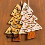 Decorated Tree - a redware ornament designed by Bachleda Tulipware