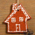Gingerbread Redware Ornament design by Bachleda Tulipware