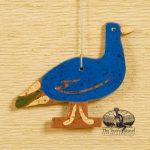 Peacock - a redware ornament designed by Bachleda Tulipware