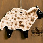 Sheep - a redware ornament designed by Bachleda Tulipware