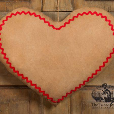 Rick Rack Door Heart design by Tish Bachleda