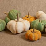 Ridged Bi-Color Pumpkins Designed by Tish Bachleda