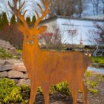 Rusted Steel Buck Design by Mike and Tish Bachleda