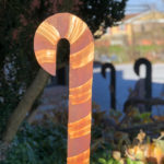Rusted Steel Candy Cane Design by Mike and Tish Bachleda