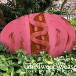 Rusted Steel Easter Egg Laying Pink Design by Mike and Tish Bachleda